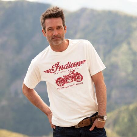 INDIAN SCOUT TEE