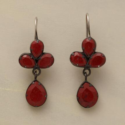 JASPER TREFOIL EARRINGS