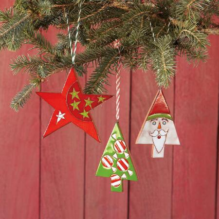 RETRO CERAMIC ORNAMENTS