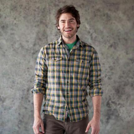 LOCOMOTION OVERLAND PLAID SHIRT