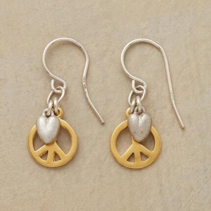PEACE & LOVE EARRINGS