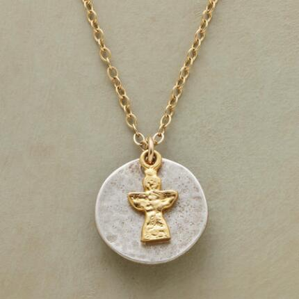 FLOATING ANGEL NECKLACE