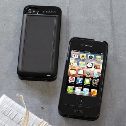 MOBIUS SOLAR CHARGER CASE FOR IPHONE 4