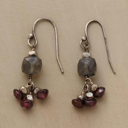 ROMANCING THE GARNET EARRING
