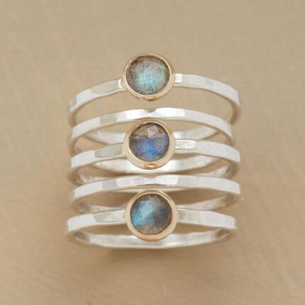 IRIDESCENCE RING SET