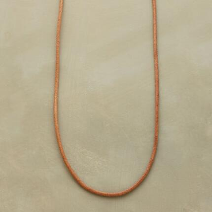Add whatever charms you please to this Jes MaHarry leather necklace.