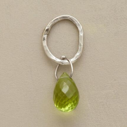 STERLING FACETED BIRTHSTONE CHARMS