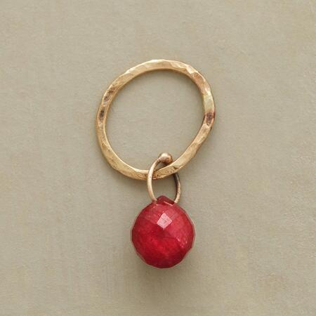 GOLD FACETED BIRTHSTONE CHARMS