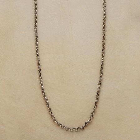 STERLING SILVER CHAIN CHARMSTARTER NECKLACE