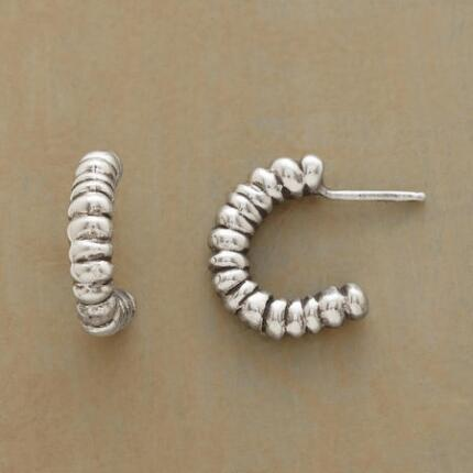 BUBBLY HOOP EARRINGS