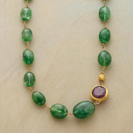 EMERALD ARCHIPELAGO NECKLACE