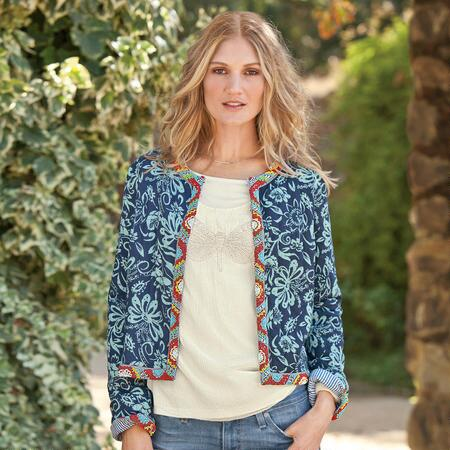 TROPIC ISLE BEADED JACKET