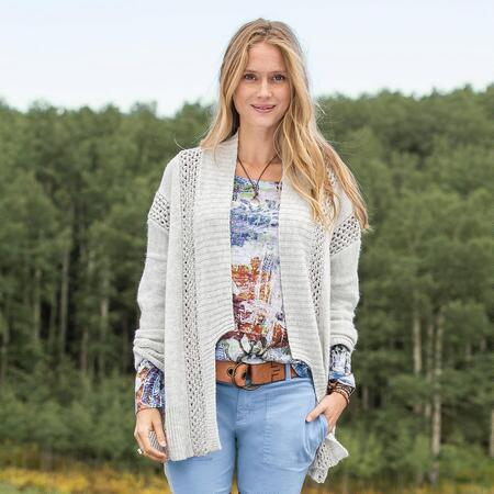 NEW DIMENSIONS SOFT TOUCH CARDIGAN