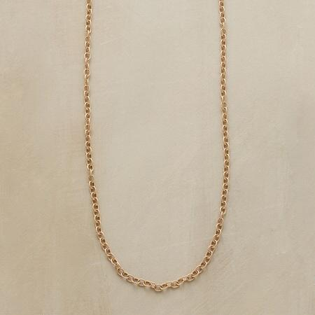 GOLD CHAIN CHARMSTARTER NECKLACE