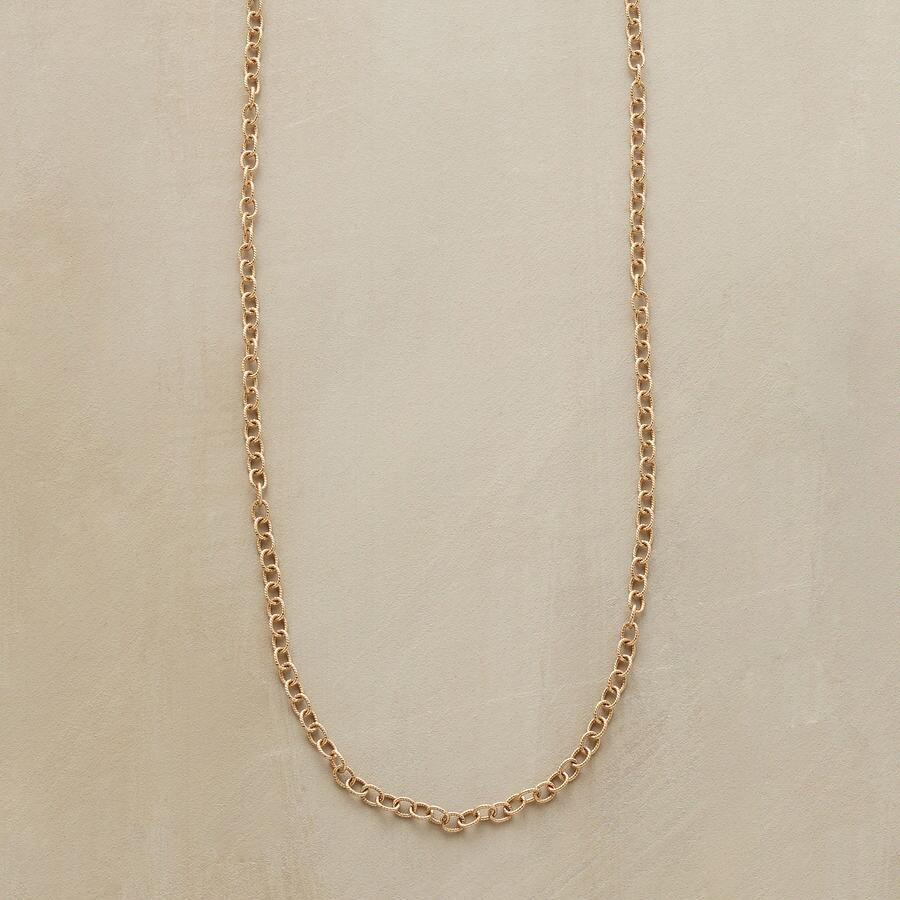 """20"""" GOLD CHAIN CHARMSTARTER NECKLACE"""
