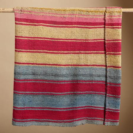 ONE-OF-A-KIND BOLIVIAN CARANGAS THROW