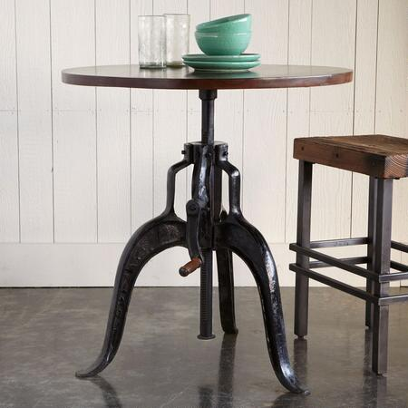 ROCKWELL ADJUSTABLE DINING TABLE