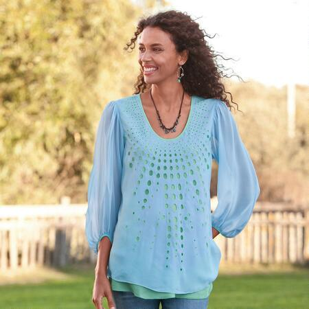RAY OF LIGHT TUNIC PETITE