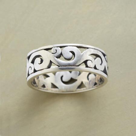 SCROLLING WAVES RING