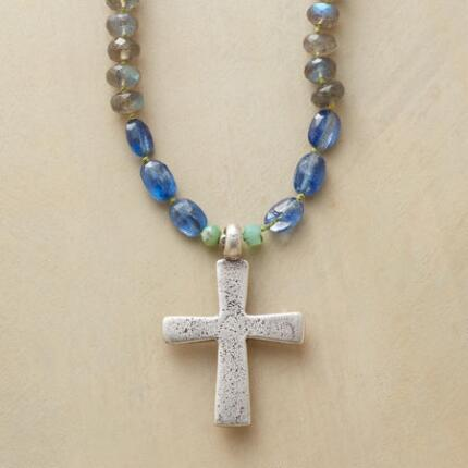 SOLSTICE CROSS NECKLACE