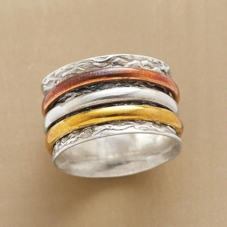 ALCHEMY SPINNER RING