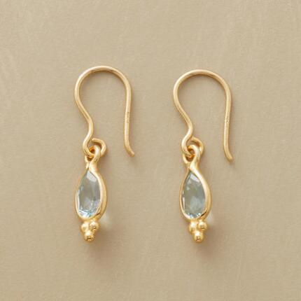GILT-EDGED TEARS EARRINGS