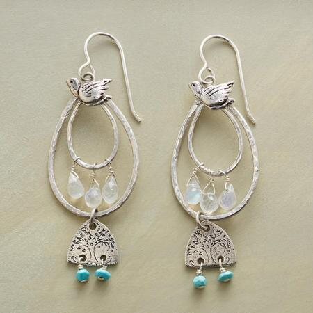 TWIN TREES EARRINGS