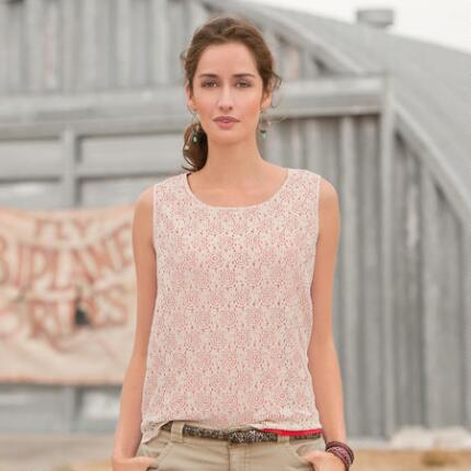 SECOND GLANCE LACE TANK