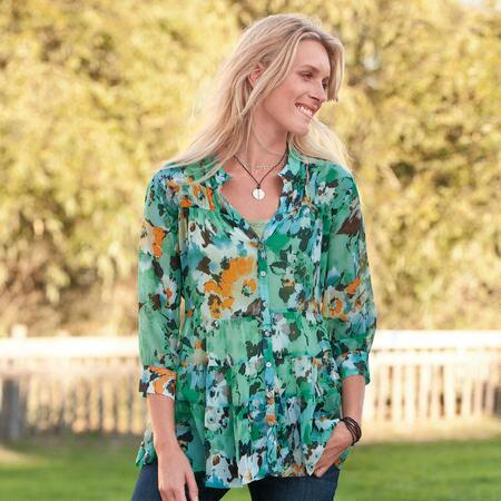 ILANA WATERCOLOR TUNIC