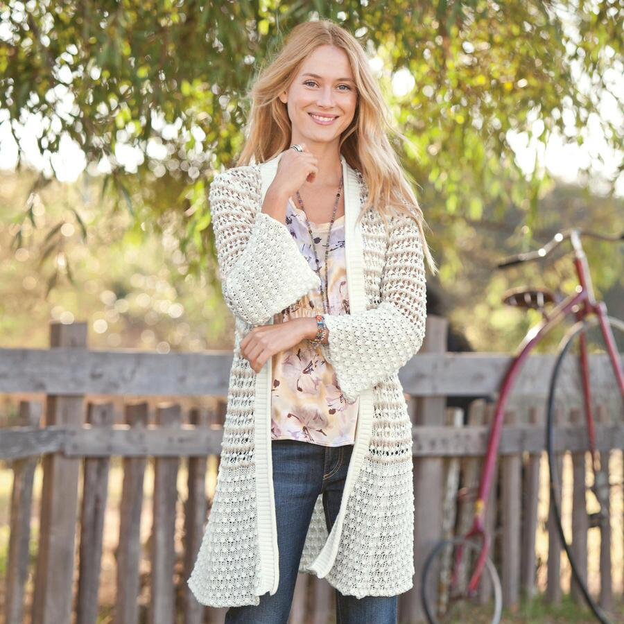 DELICATELY MIXED CARDIGAN