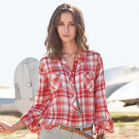 BOULEVARD PLAID SHIRT