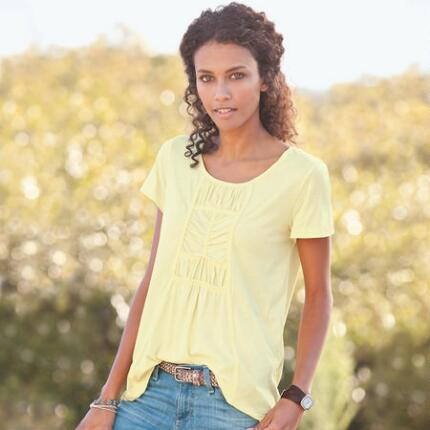 ROSEVILLE RUCHED TEE