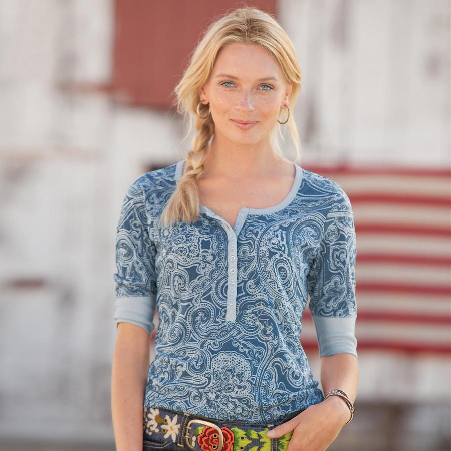 PAISLEY TO PLEASE HENLEY
