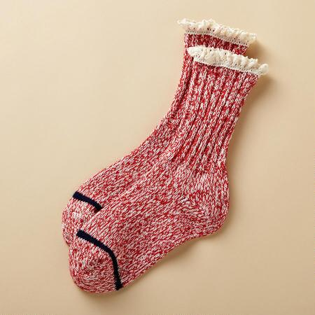 LACE FRILLED BOOT SOCKS