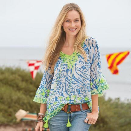TIPPED TO PERFECTION TUNIC