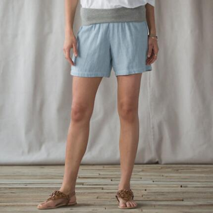 COOL 'N' EASY ROLL TOP SHORTS