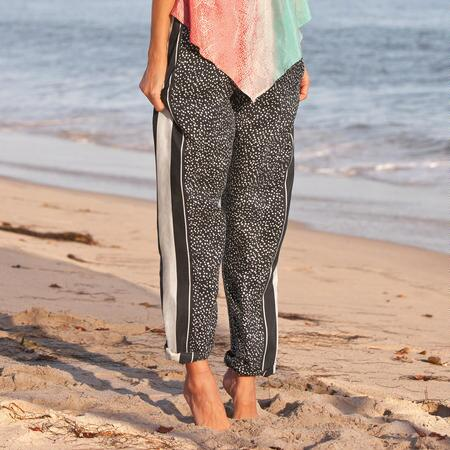 NIGHT SKY SILK PANTS