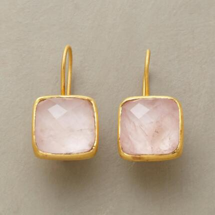 PILLOWS OF PINK EARRINGS