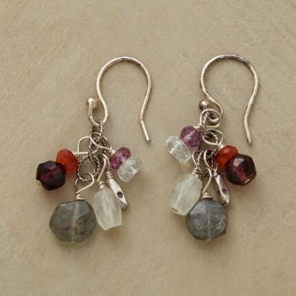 GARNETS AND MORE EARRINGS