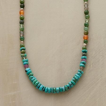 SPICED JADE NECKLACE