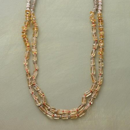 SWEET ON CITRINE NECKLACE