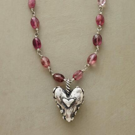 BIG HEARTED NECKLACE
