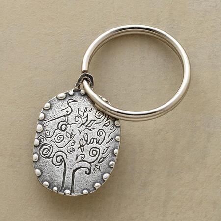 OPEN YOUR HEART KEYRING