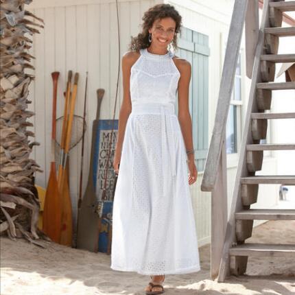 ISLA EYELET DRESS