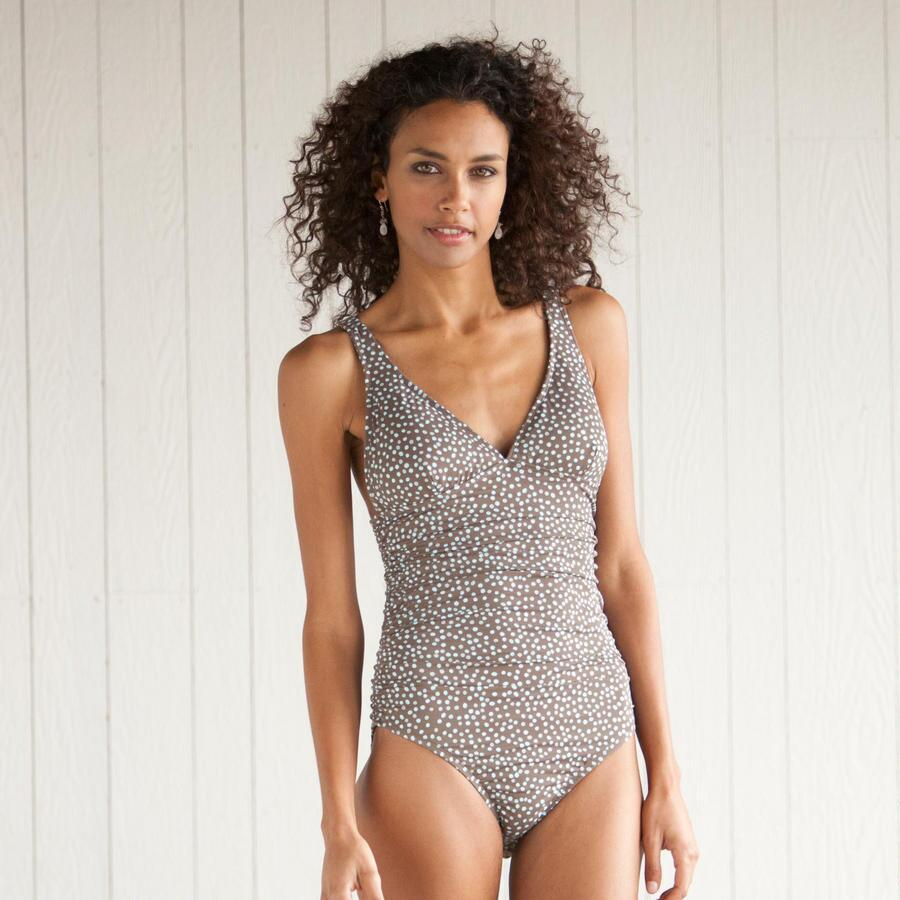 DOHENY DOTS ONE PIECE SWIMSUIT