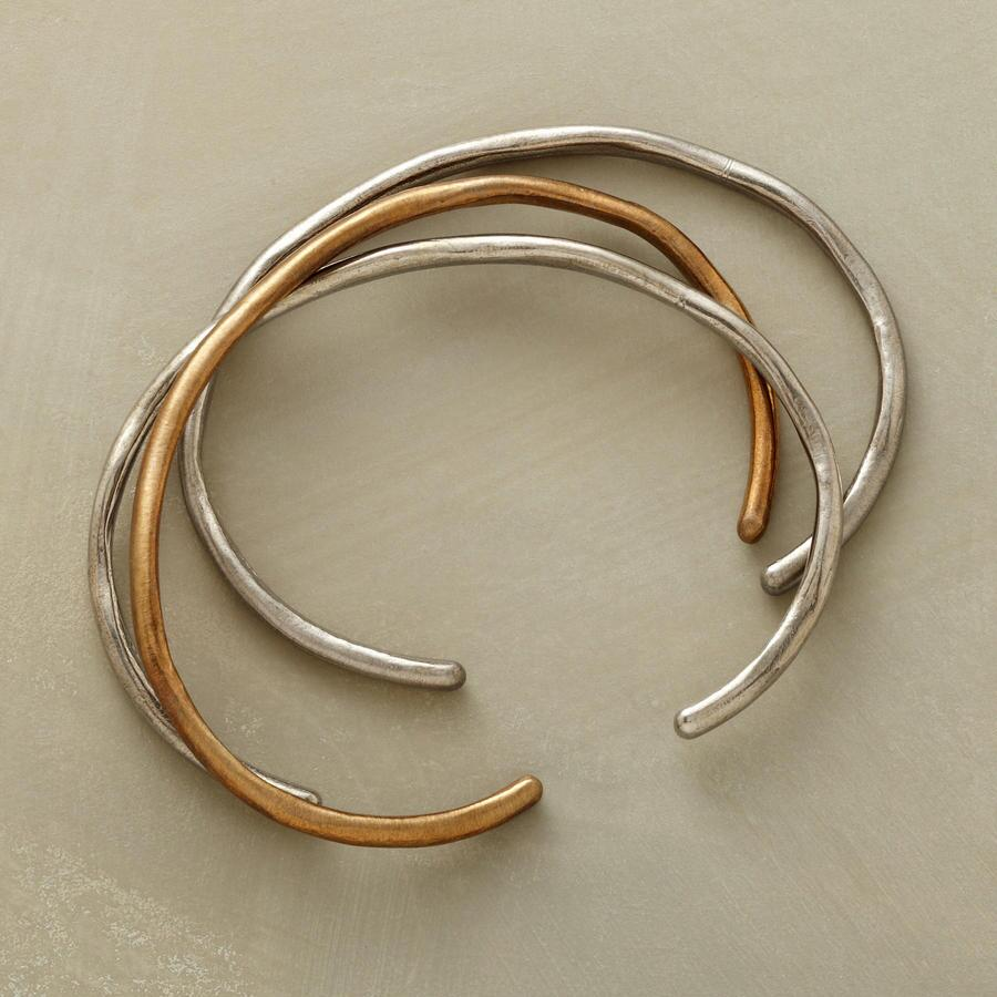 BRONZE TIDE CUFF TRIO