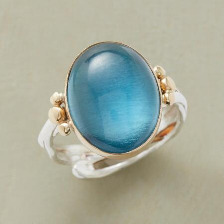 BLUE BRILLIANCE RING