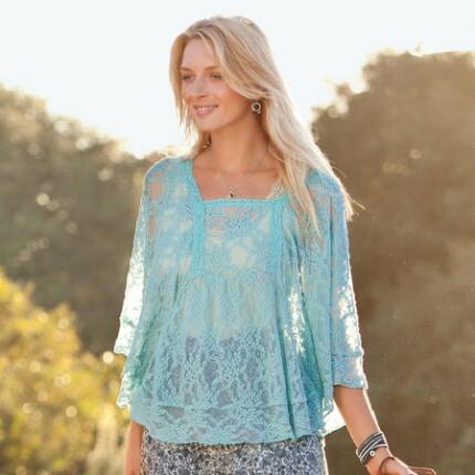 ANGELIKA LACE TUNIC