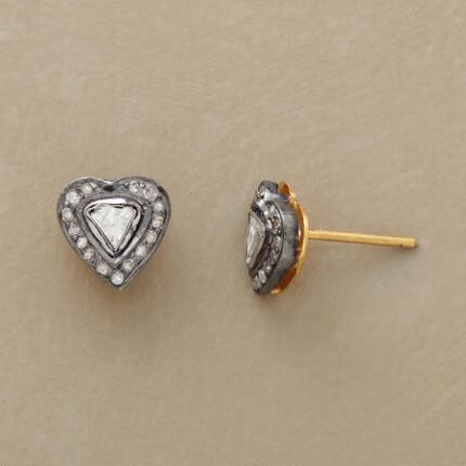 HEART OF DIAMONDS EARRINGS