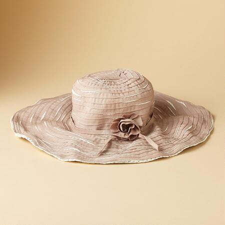 RIBBON ROSETTE HAT